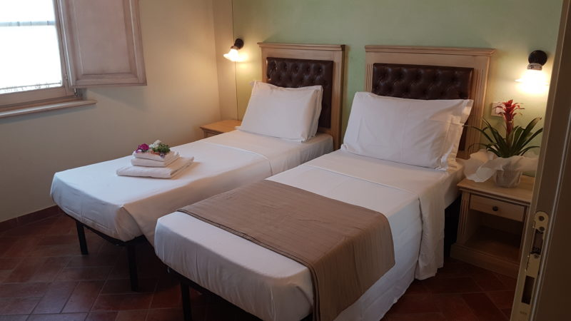 Double Room – 2 Twin beds