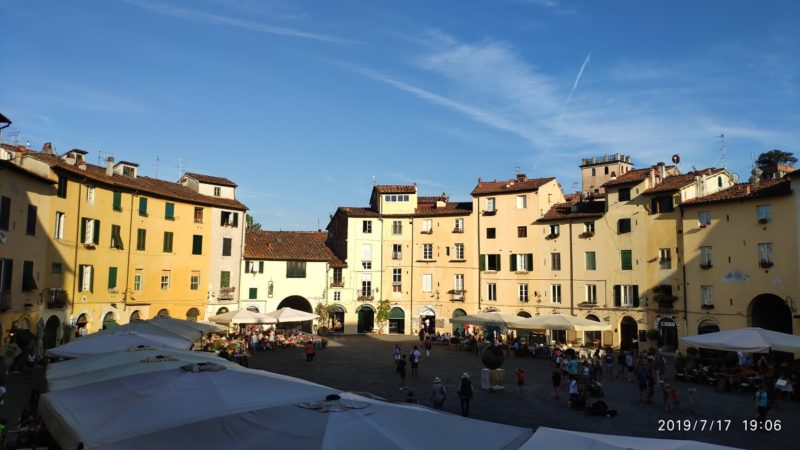 amphitheatre-square-lucca Tuscany